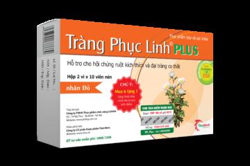 Tràng Phục Linh Plus – Đột phá mới hỗ trợ điều trị viêm đại tràng co thắt của người Việt
